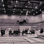Woman Gymnast, SDSU Women's Gymnastics Team, 1975