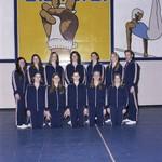 South Dakota State University 1976 women's gymnastics team