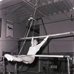 South Dakota State University 1976 woman gymnast