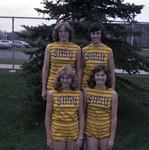 South Dakota State University 1976 women's track team