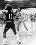 South Dakota State University 1987 Jackrabbits women's basketball team guard, Tara Tessier