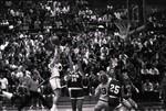 South Dakota State University 1993 Jackrabbits women's basketball game versus the University of South Dakota