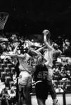 South Dakota State University 1994 Jackrabbits women's basketball team in a game versus St. Cloud State