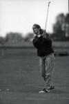 South Dakota State University 1994 Jackrabbits women's golf team golfer in action