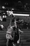 South Dakota State University 1995 Jackrabbits women's basketball team in a game against Nebraska - Omaha