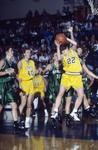 South Dakota State University 1995 Jackrabbits women's basketball team in a game against UND