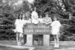 South Dakota State University 1996 Jackrabbits women's tennis team