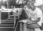 South Dakota State University 1996 Jackrabbits track and field athlete, Kristi Hoffman by South Dakota State University