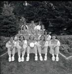 South Dakota State University 1996 Jackrabbits volleyball team