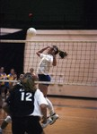South Dakota State University 1997 Jackrabbits women's volleyball team in a game against UNC by South Dakota State University