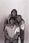 South Dakota State University 1998 Jackrabbits women's volleyball team players, Krista Zaczkowski, Roxie Rath, and Julie Nihart by South Dakota State University