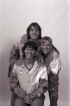 South Dakota State University 1998 Jackrabbits women's volleyball team players, Krista Zaczkowski, Roxie Rath, and Julie Nihart