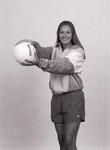 South Dakota State University 2000-2001 Jackrabbits women's volleyball middle hitter, Shauna Sturm