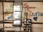 Doner Auditorim, Storage Room, East Wall by South Dakota State University
