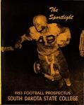 The Sportlite 1953 Football Prospectus South Dakota State College