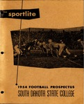The Sportlite 1954 Football Prospectus South Dakota State College