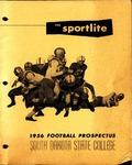 The Sportlite 1956 Football Prospectus South Dakota State College