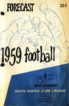 Forecast 1959 Football South Dakota State College