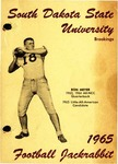 South Dakota State University 1965 Football Jackrabbit