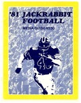 '81 Jackrabbit Football Guide