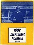 1982 Jackrabbit Football by South Dakota State University