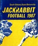 Jackrabbit Football 1987 by South Dakota State University