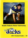 Jacks 1991 Football Guide by South Dakota State University