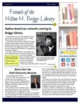 Friends of the Hilton M. Briggs Library Newsletter: Spring 2016