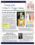 Friends of the Hilton M. Briggs Library Newsletter: Fall 2016