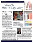 Friends of the Hilton M. Briggs Library Newsletter: Winter 2016-2017