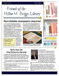 Friends of the Hilton M. Briggs Library Newsletter: Winter 2017-2018