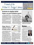 Friends of the Hilton M. Briggs Library Newsletter: Fall 2018 by Hilton M. Briggs Library
