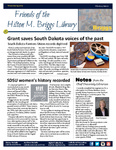 Friends of the Hilton M. Briggs Library Newsletter: Winter/Spring 2019