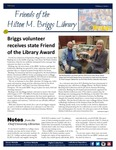 Friends of the Hilton M. Briggs Library Newsletter: Fall 2019