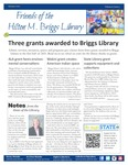 Friends of the Hilton M. Briggs Library, Summer 2021