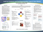 Look for Problems and Find Opportunities: Lean in Your Library by Jeanne R. Davidson and Mary Kraljic