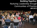 Building Together: Nurturing Leadership through Communities of Practice