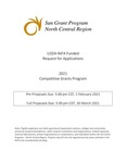 USDA-NIFA Funded Request for Applications  : 2021 Competitive Grants Program
