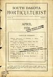 South Dakota Horticulturist, April 1930