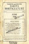 North and South Dakota Horticulture, June 1930