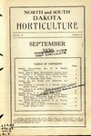 North and South Dakota Horticulture, September 1930