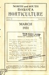 North and South Dakota Horticulture, March 1931