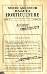 North and South Dakota Horticulture, August 1931