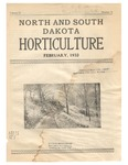 North and South Dakota Horticulture, February 1932