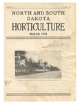 North and South Dakota Horticulture, March 1932