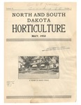 North and South Dakota Horticulture, May 1932