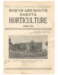 North and South Dakota Horticulture, June 1932