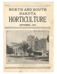 North and South Dakota Horticulture, September 1932