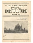 North and South Dakota Horticulture, October 1932