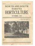 North and South Dakota Horticulture, November 1932